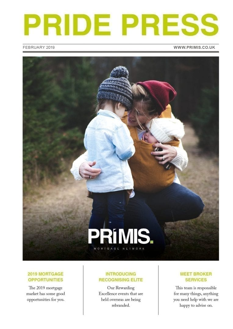 PRIMIS Pride press february front cover child protection