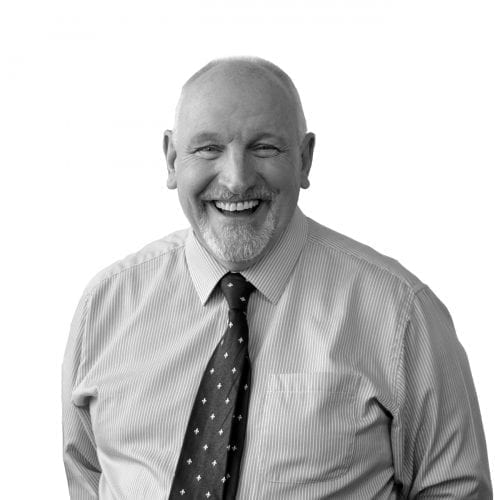 cutout studio portrait of regional sales director bob scott