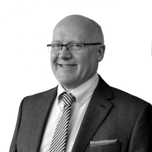 cutout studio portrait of regional sales director trevor tait