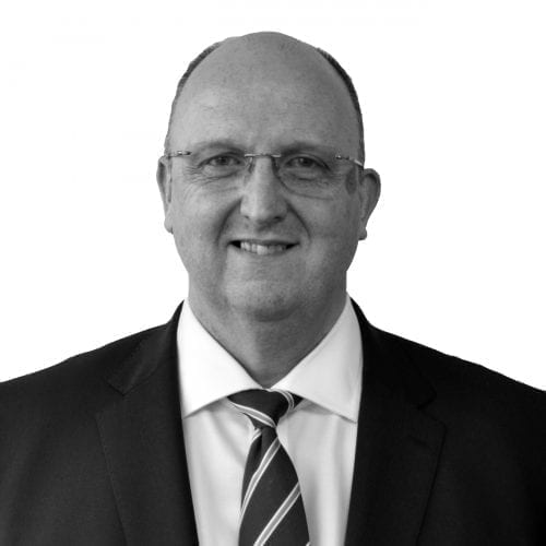 cutout studio portrait of national sales director martin igoe